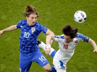 Luka Modric y Rosicky