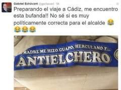 Tuit del alcalde de Alicante