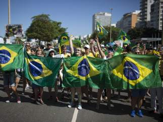 Protestas en Río