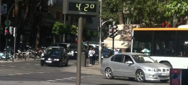 Calor en Murcia