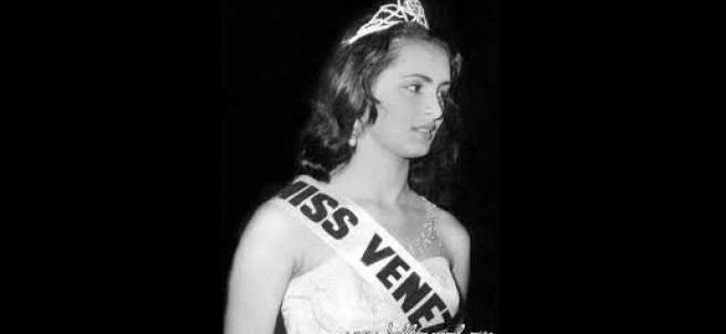 La Miss Mundo venezolana Susana Duijm