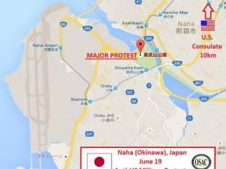 Mapa de Naha