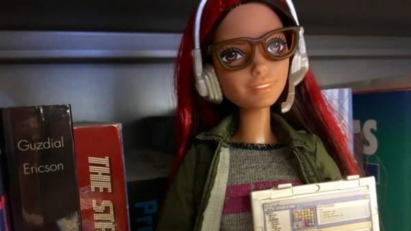 Barbie programa videojuegos