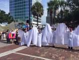 Manifestación anti-homofobia en Orlando
