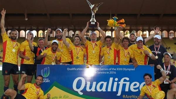 España logra un billete para los Juegos Olímpicos en Rugby a siete