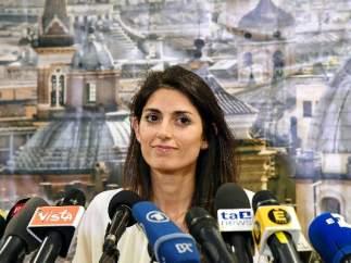Virginia Raggi es la nueva alcaldesa de Roma