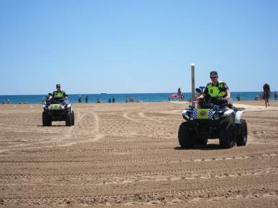 Medios de Policía Local que forman parte del Plan de Vigilancia de Playas 2014