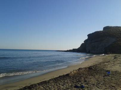 Cala en el Parque Natural del Cabo de Gata (Almería)
