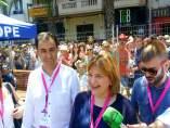 Maíllo y Bonig en Fogueres de Alicante