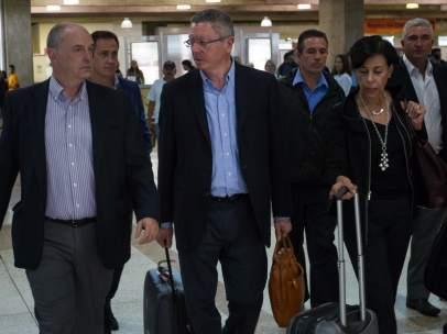 Ruiz-Gallardón llega a Venezuela