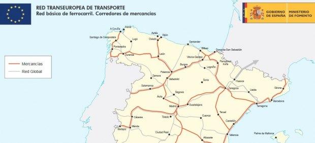 Corredores de mercancías de la Red Transeuropea