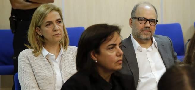 La Infanta Cristina en el juicio por el caso Nóos
