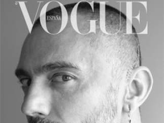 Portada de la revista 'Vogue' con David Delfín