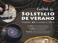 Cartel El 25 De Junio Se Celebrará En Almendralejo El Festival Del Solsticio De