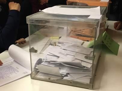 Urna electoral 20D