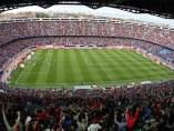 Estadio Vicente Calderón en el Atlético de Madrid - Celta