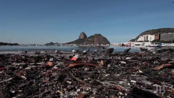 """Las aguas de Río son """"letrinas"""", denuncia un biólogo y activista"""