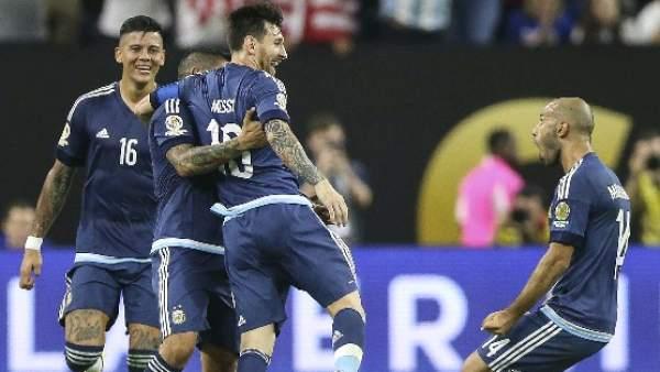 Messi es el máximo goleador de la selección argentina