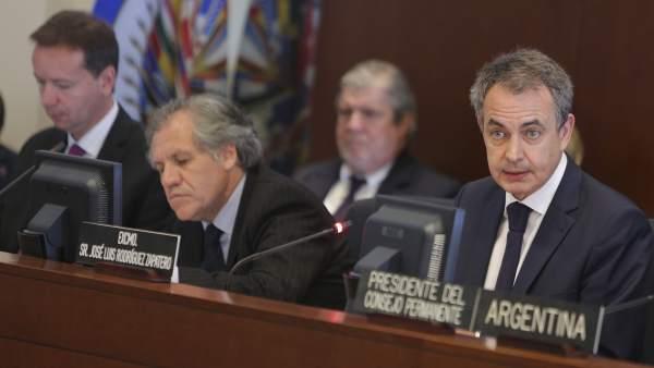 Zaptero en la OEA