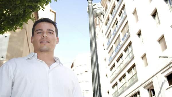El exalumno de la Universidad Politécnica de Cartagena (UPCT) Rubén Palomares