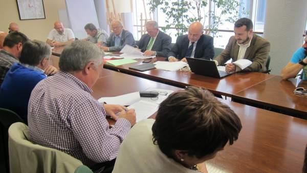 Firma del acuerdo laboral de Sniace en el Orecla