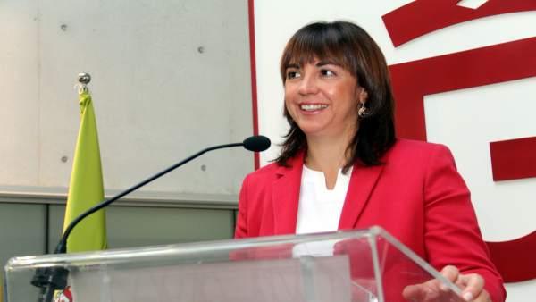La diputada de Bienestar Social de la Diputación de Granada, Olvido de la Rosa