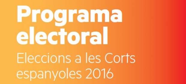 ERC programa electoral