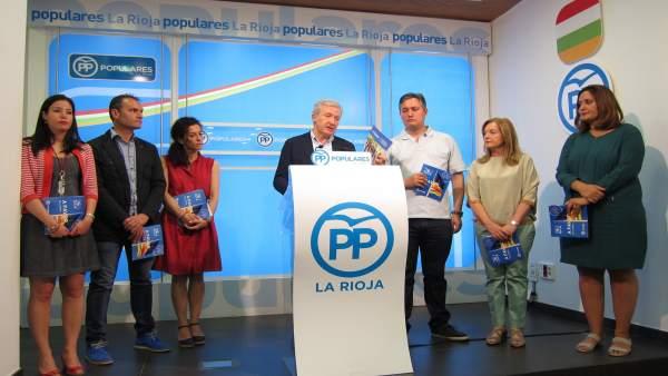 Candidatos del PP desgranan programa electoral