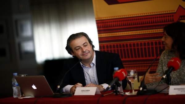 Juanjo Mena en la presentación de la III edición de Solo música