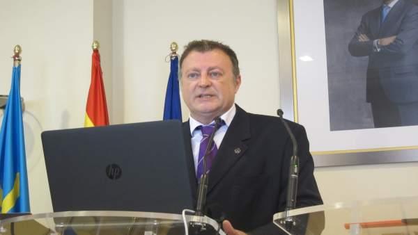 El delegado de la Agencia Estatal de Meteorología en Asturias, Manuel Mora
