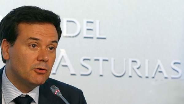 Francisco Blanco en rueda de prensa.