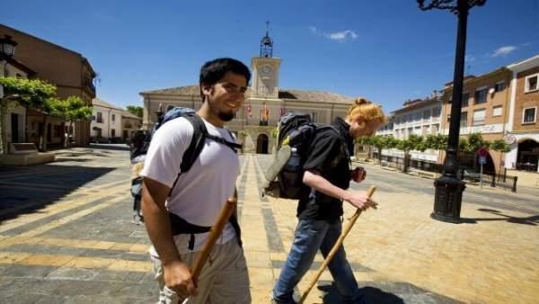 Peregrinos del Camino de Santiago