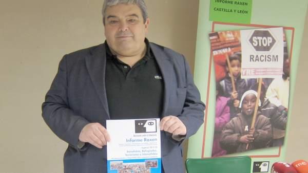 El presidente de Movimiento contra la Intolerancia, Esteban Ibarra