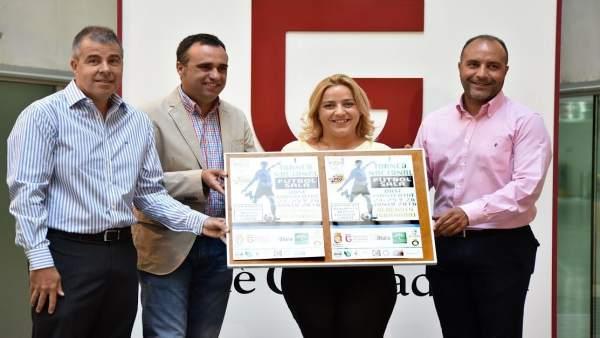 Presentación en Granada del primer torneo nacional de fútbol sala.