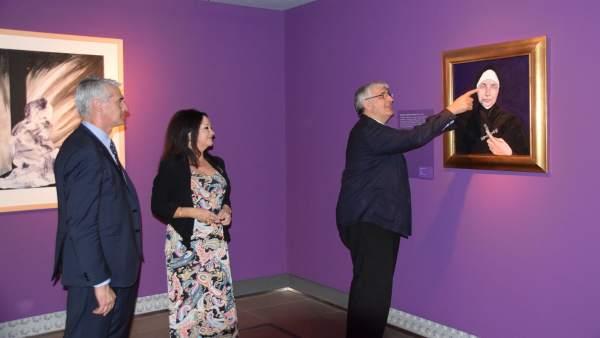 Ianuguración de la exposición dedicada a Santa Teresa.