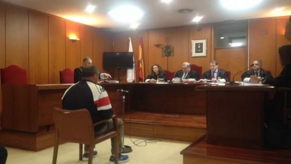 El acusado declarando en el juicio