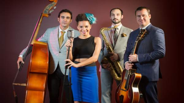 La banda de Saphie Welss & The Swing Cats.