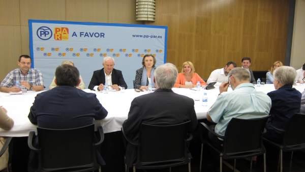 Rudi, Suárez y Santos, reunidos con representantes de la educación concertada