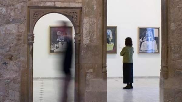 Interior del Museo Picasso de Barcelona
