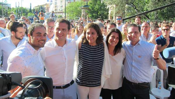 Mitin de Albert Rivera