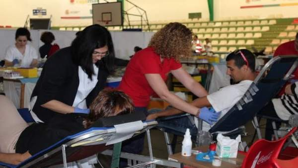 Profesionales del Centro de Área de Transfusión Sanguínea