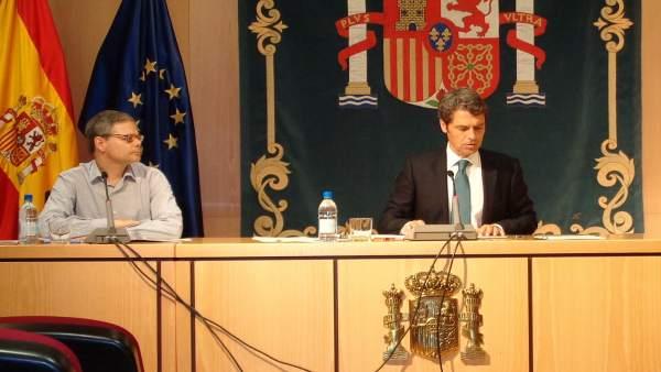 El delegado del Gobierno en Canarias, Enrique Hernández Bento