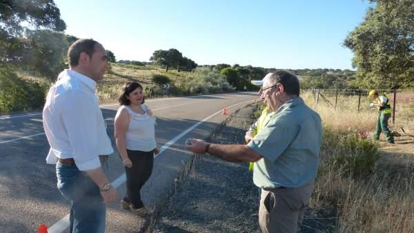 Recuperación de senderos en Castiblanco de los Arroyos