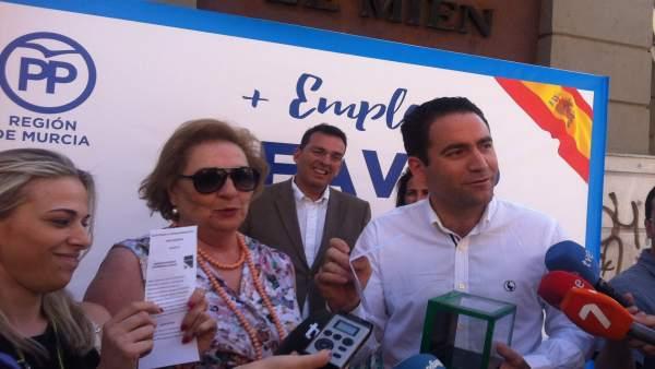 El cabeza de lista del PP por Murcia al Congreso, Teodoro García