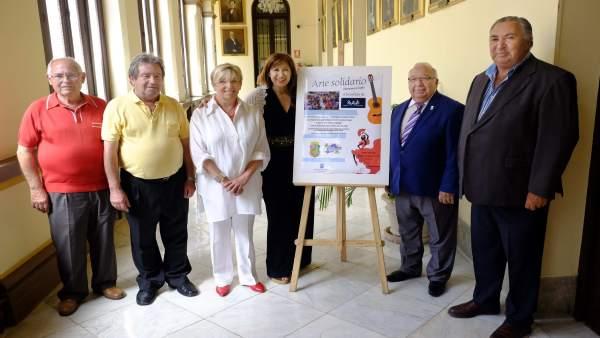 Gemma del Corral, Miguel Carmona, Diego Pérez, Antonio Meléndez, María Antonia M