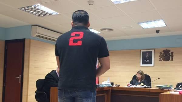 Federico Magallanes en el juicio
