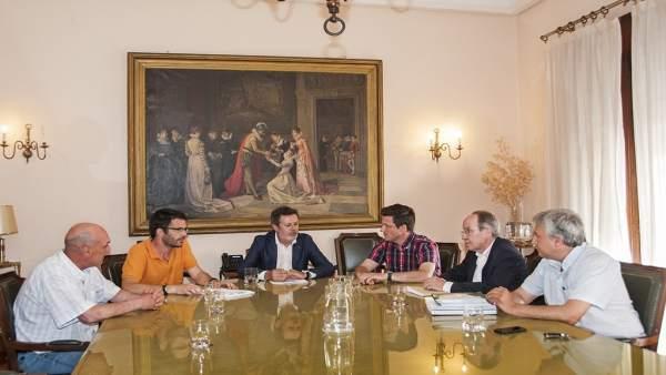 Fotos Reunión Infraestructuras Diputacióncáceres Juntaextremadura