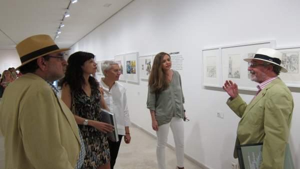 Inauguración de la muestra sobre artistas ilustradores de los años setenta