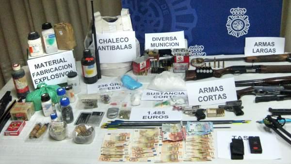 Detenidas ocho personas que traficaban con speed y con armas en zaragoza y tudela - Jefatura trafico zaragoza ...