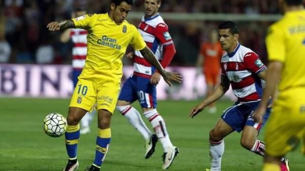 Partido entre Las Palmas y Granada de la Liga